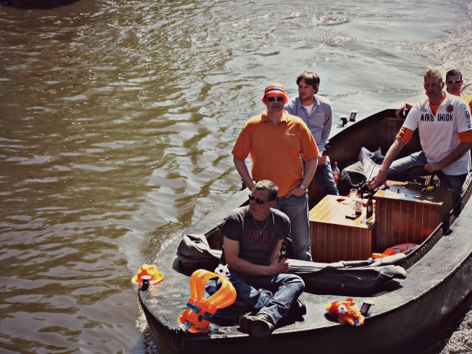 In pictures: Queensday in Amsterdam