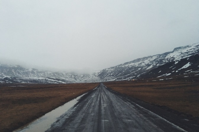 Driving around the Iceland Ring Road in December